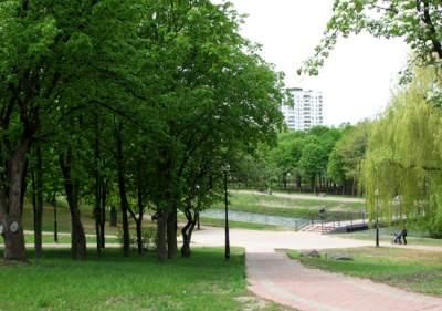 В Киеве закончили реконструкцию парка «Отрадный»