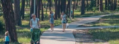 Как изменился после ремонта столичный парк Партизанской славы