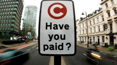 Центр Киева хотят сделать платным для водителей