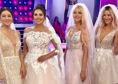 Украинские звезды примерили свадебные наряды