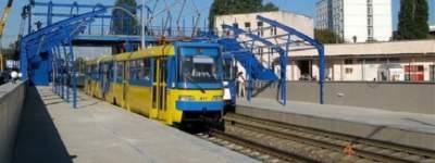 В Киеве три недели не будут ездить трамваи №1