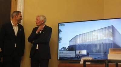 Киевлянам показали, как будет выглядеть музей Революции достоинства