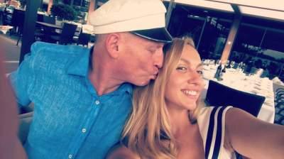 Оля Полякова показала фото с мужем