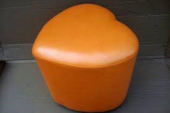 Замечательное кресло-диван Сердце Pufi