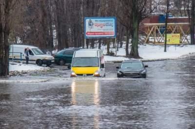 Киев затопило после мощного ливня