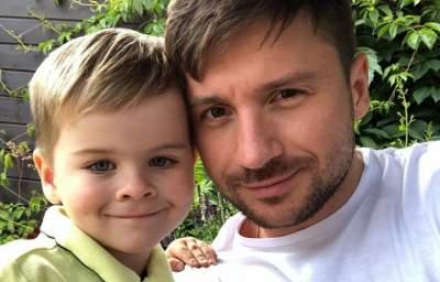 Сергей Лазарев показал, на кого похож его сын