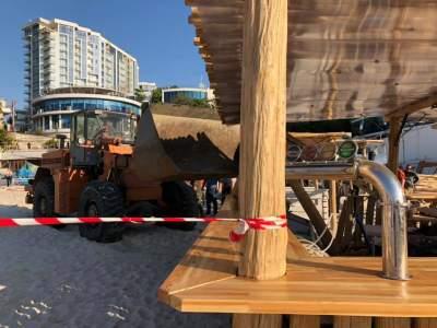 В Одессе ликвидировали популярный пляж