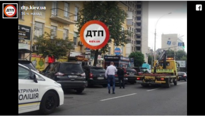 Киевлян разозлили очередные «герои парковки»
