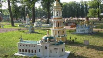 В Киеве приходит в упадок популярный парк