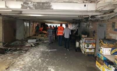 В Киеве демонтировали МАФы возле ТЦ «Маяк»