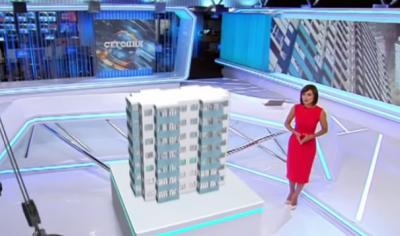 В Киеве снесут заселенную новостройку