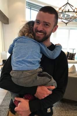 Джастин Тимберлейк порадовал фото с сыном