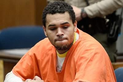 Концерт Криса Брауна закончился его арестом