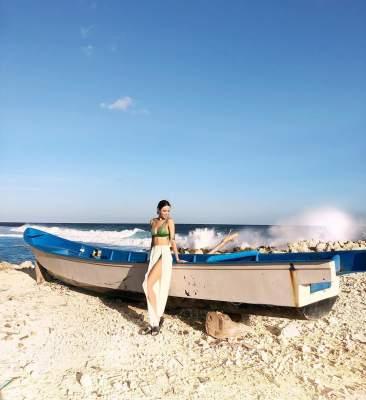 Надя Дорофеева порадовала еще одним пляжным фото