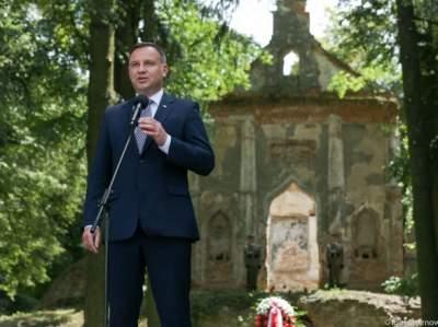 Дуда призвал украинцев ехать в Польшу