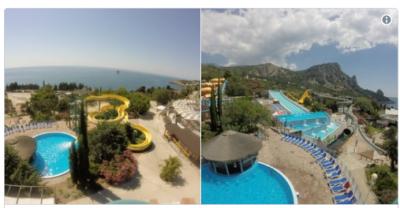 В Сети показали пустующий аквапарк в Крыму