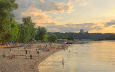 Киевские пляжи опасны для жизни