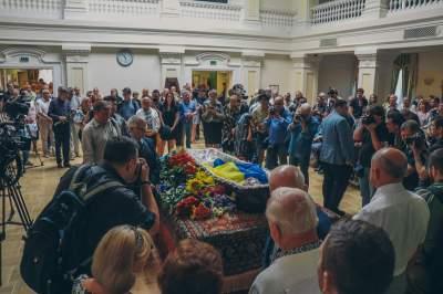 В Киеве попрощались с Левко Лукьяненко