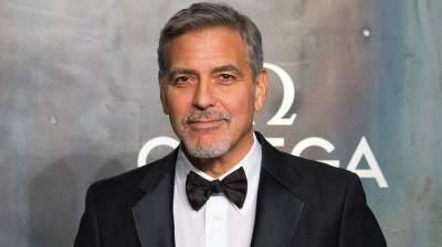 Джордж Клуни попал в больницу после в аварии