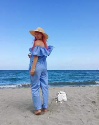 Cветлана Тарабарова показала, чем занимается на пляже