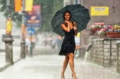 Украину, несмотря на жару, зальет дождями