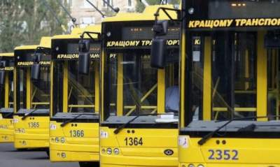 В Киеве обновят схемы движения общественного транспорта