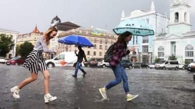 Киевлян предупредили о затяжных дождях