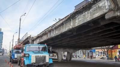 Кличко рассказал, когда починят Шулявский мост