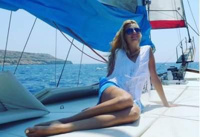 Оля Горбачева показала, как отдыхает на яхте