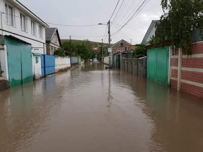 В Сети показали последствия потопа в Симферополе