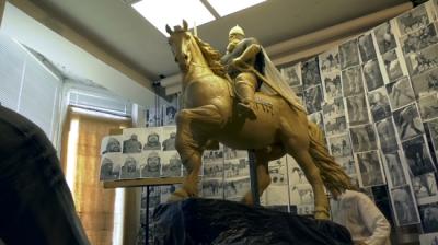 В Киеве памятник Илье Муромцу напечатали на 3D-принтере