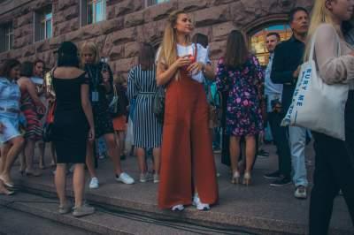 На Крещатике прошел конкурс молодых дизайнеров