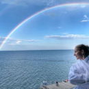 Катя Осадчая показала стройную фигуру на пляже