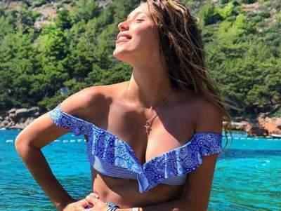 Регина Тодоренко похвасталась новым купальником