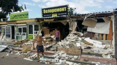 В Киеве за неделю снесли 19 МАФов