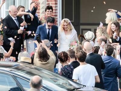 Ванесса Паради показала свадебное фото