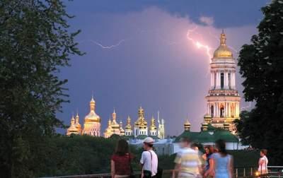 В Киеве вновь ожидается гроза