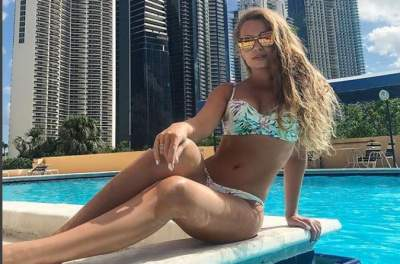 Яна Соломко похвасталась новым купальником