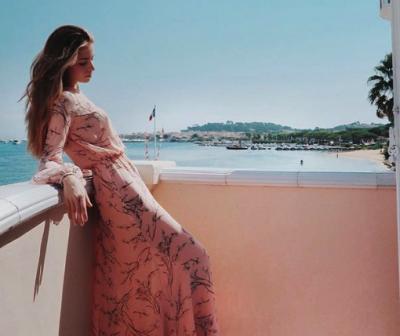 Внучка Софии Ротару показала, как отдыхала во Франции