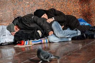 В Киеве выросло количество бездомных