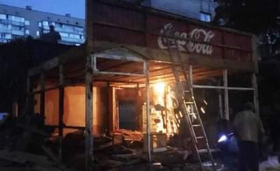 В Киеве вновь демонтировали МАФы