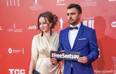 На Одесском кинофестивале поддержали Сенцова
