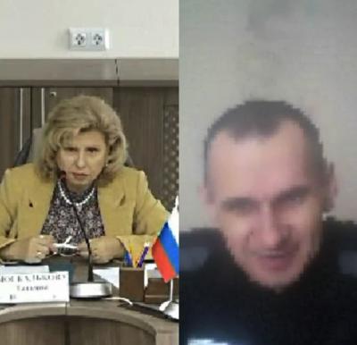 В России показали фото голодающего Сенцова