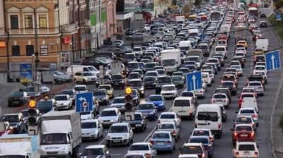 Киевлянам рассказали, где в ближайшие дни будут пробки