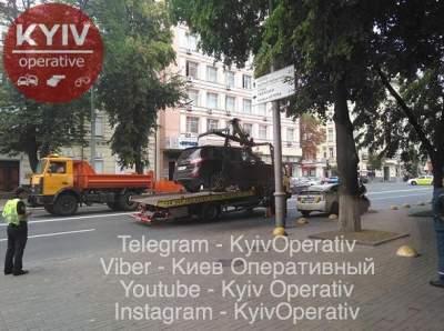 В Киеве оперативно наказали наглого «героя парковки»
