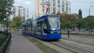 Один из киевских трамваев изменит маршрут движения