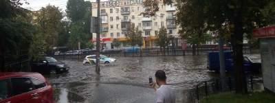 В Киеве непогода стала причиной пробок