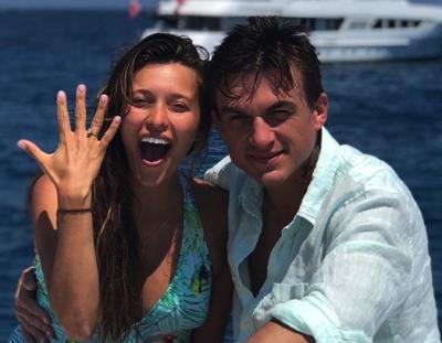 Украинская телеведущая впервые выходит замуж