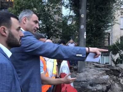 Кличко отреагировал на последствия ливня в столице