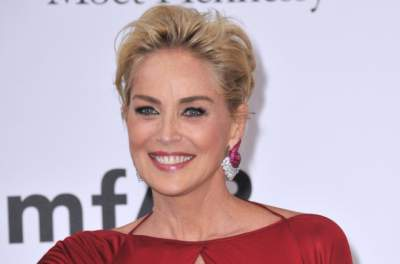 60-летняя Шерон Стоун произвела фурор своим внешним видом